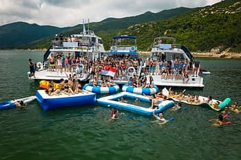 Raft-Up Parties